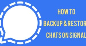 How to Back Up and Restore Chats on Signal in Android