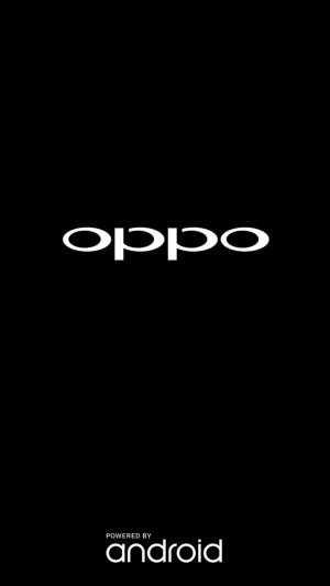 Oppo splash screen