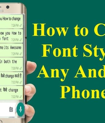 How To Change Fonts On Android Smartphones