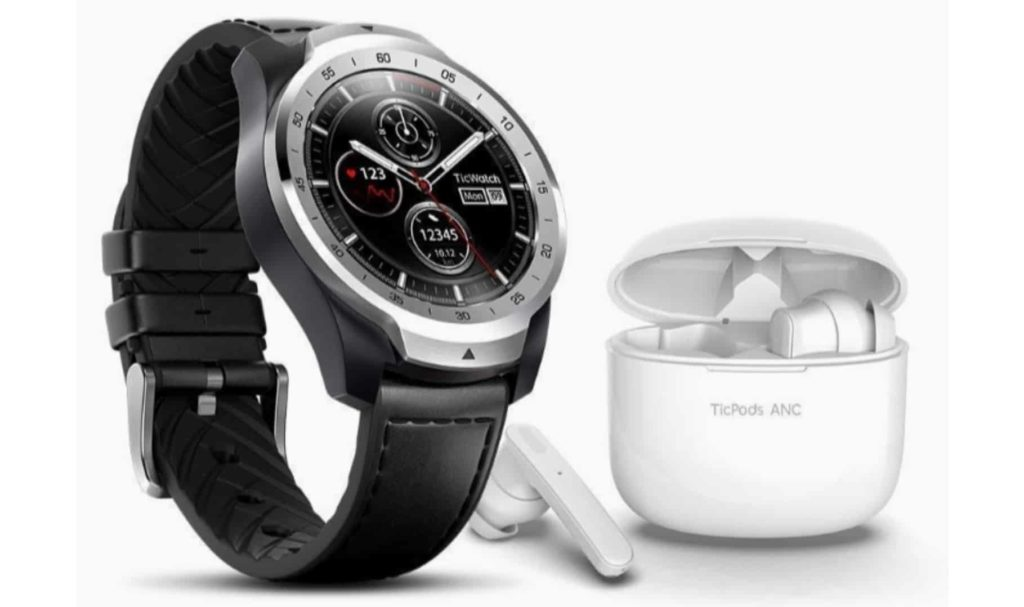 TicWatch Pro Smartwatch + TicPods ANC Bundle at $249