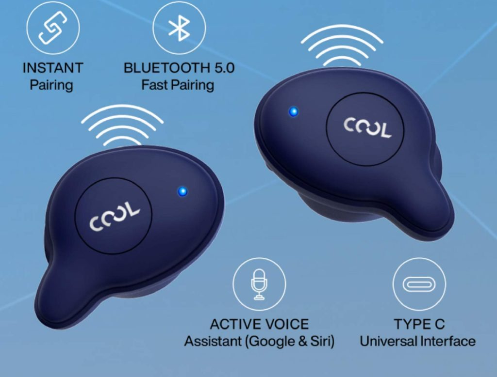 Coolpad Cool Bass Buds launched in India